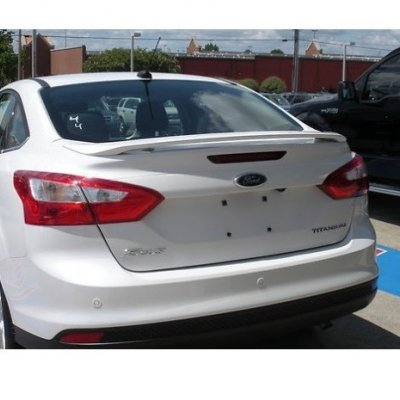 Ford Focus 3 Sedan Makyajlı Spoiler (Fiber)